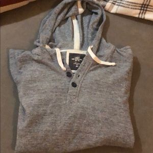 H&M Thermal Pullover w/hood Sz L